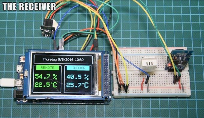 Arduino wireless weather station project hub