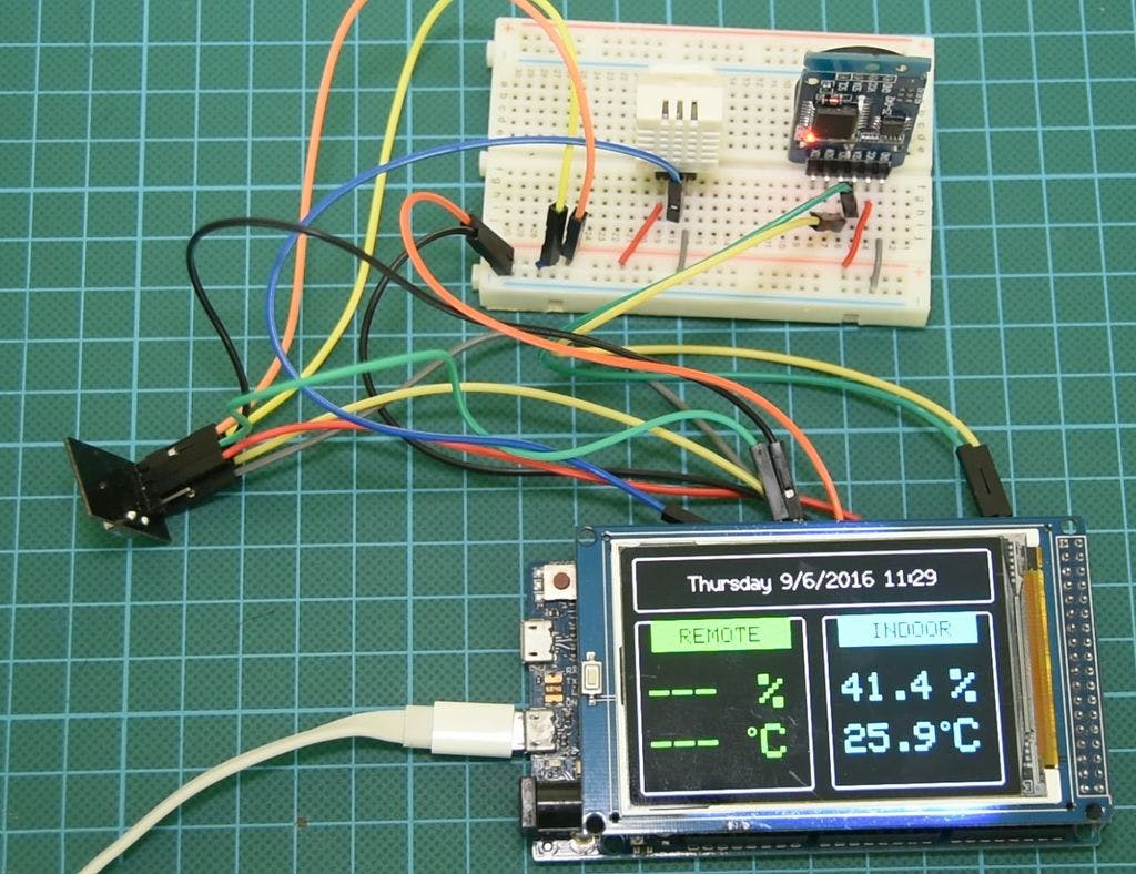 Arduino Wireless Weather Station Finished Pieces Circuit Bending Tutorial Interfacing With The