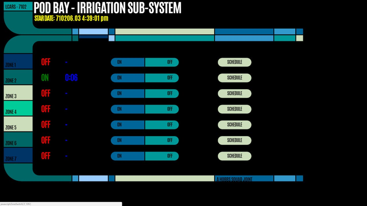 Star Trek (LCARS) Home Automation Control Panel - Hackster io