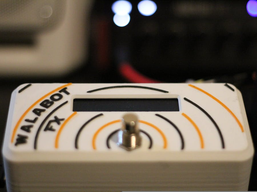 Walabot FX - Guitar Effect Control