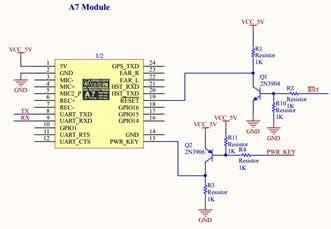 A7 module control circuit