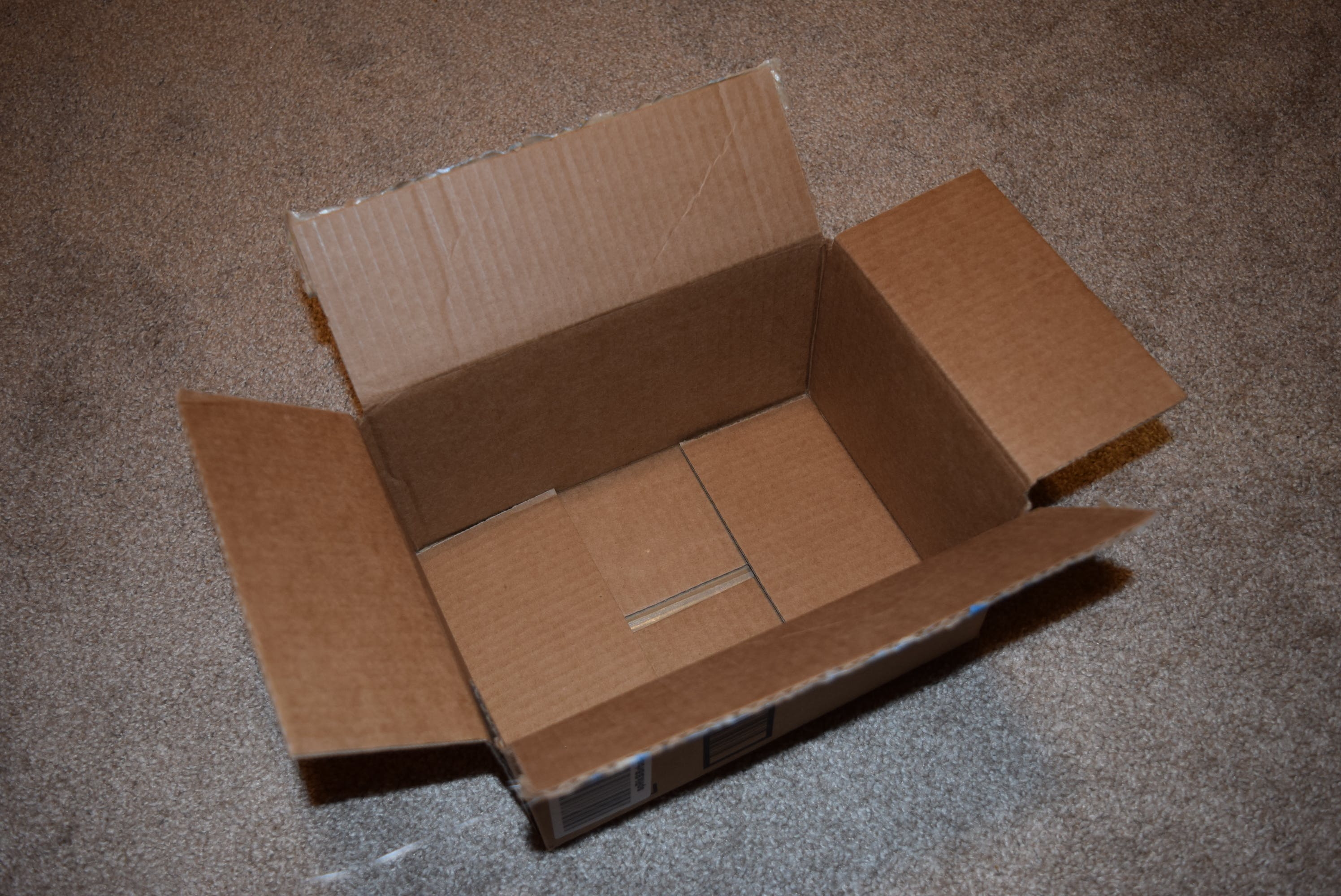 Start with a box