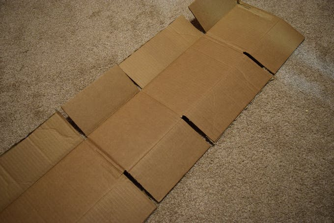 Unfold the box