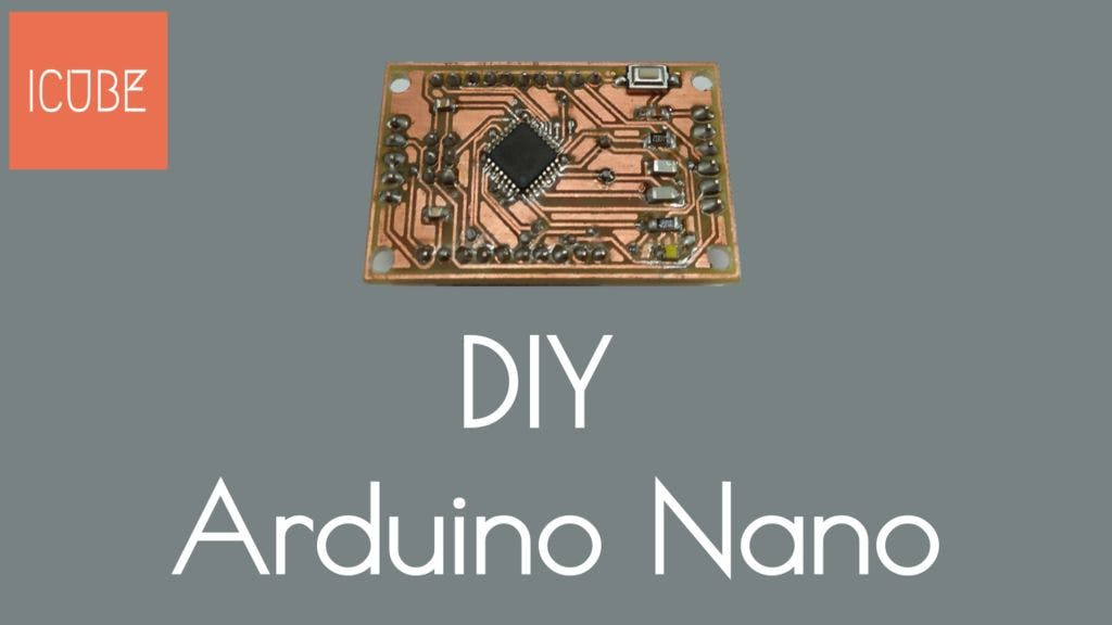 make your own arduino nano  diy - arduino nano