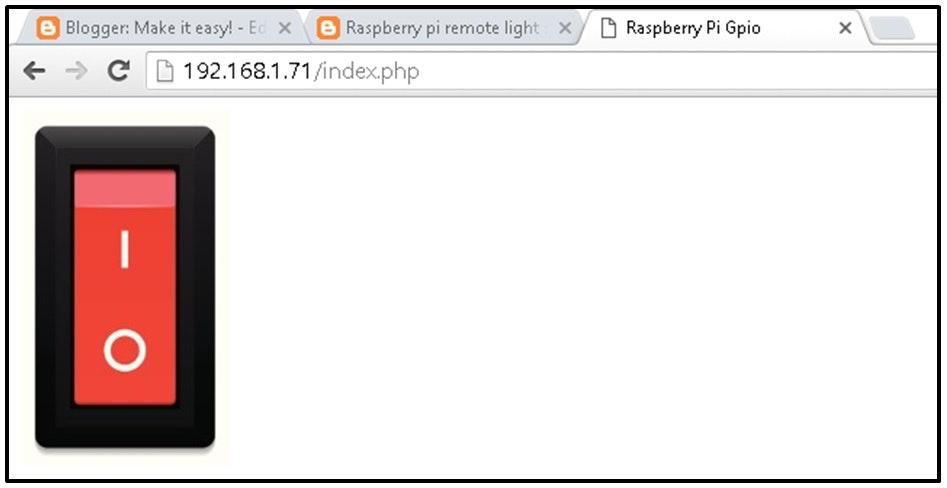 raspberry pi remote light switch by phone hackster io rh hackster io Raspberry Pi Supercomputer raspberry pi gpio wiringpi php