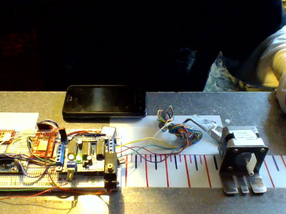IoT Stepper Motor