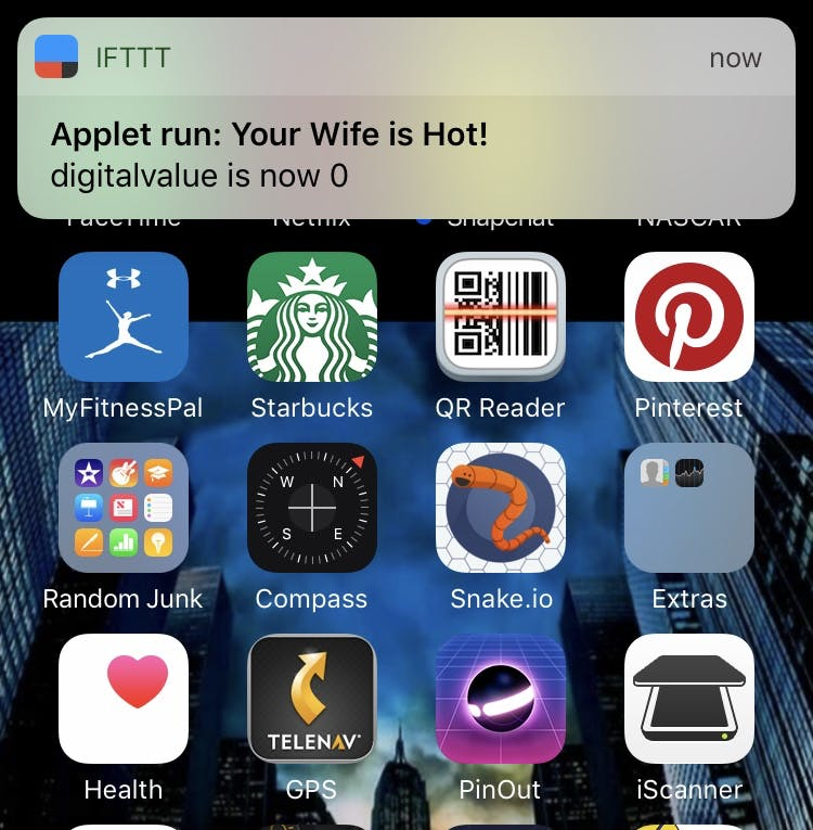 The Push Notification
