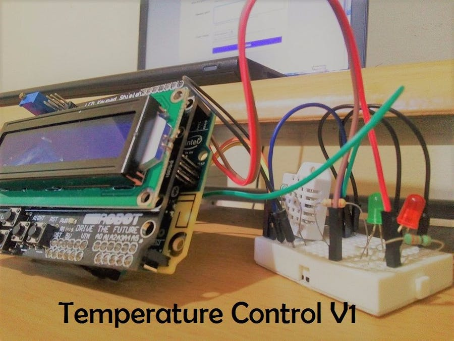 Arduino Temperature Control - Arduino Project Hub
