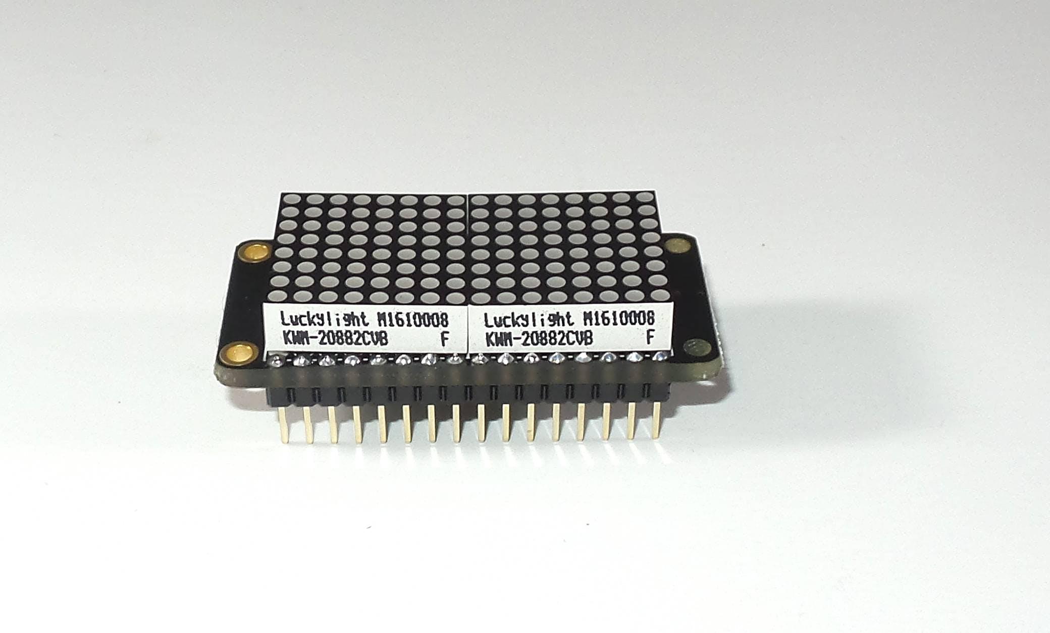 LED matrix assembled