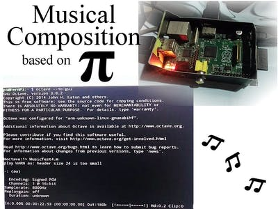 Musical Composition based on Pi