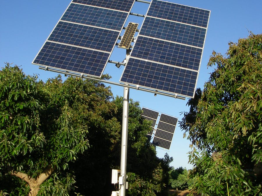 Non Optical Solar Tracker (East Tower 2.4KW)