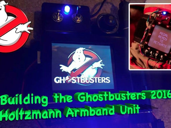 Ghostbusters Trap Armband