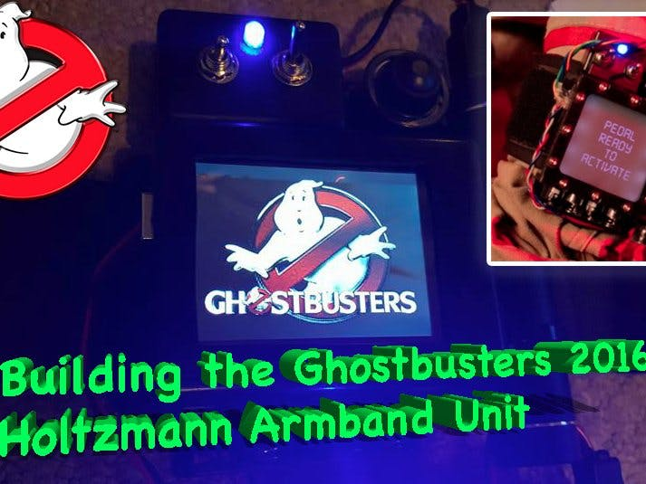 Ghostbusters Trap Armband - Arduino Project Hub