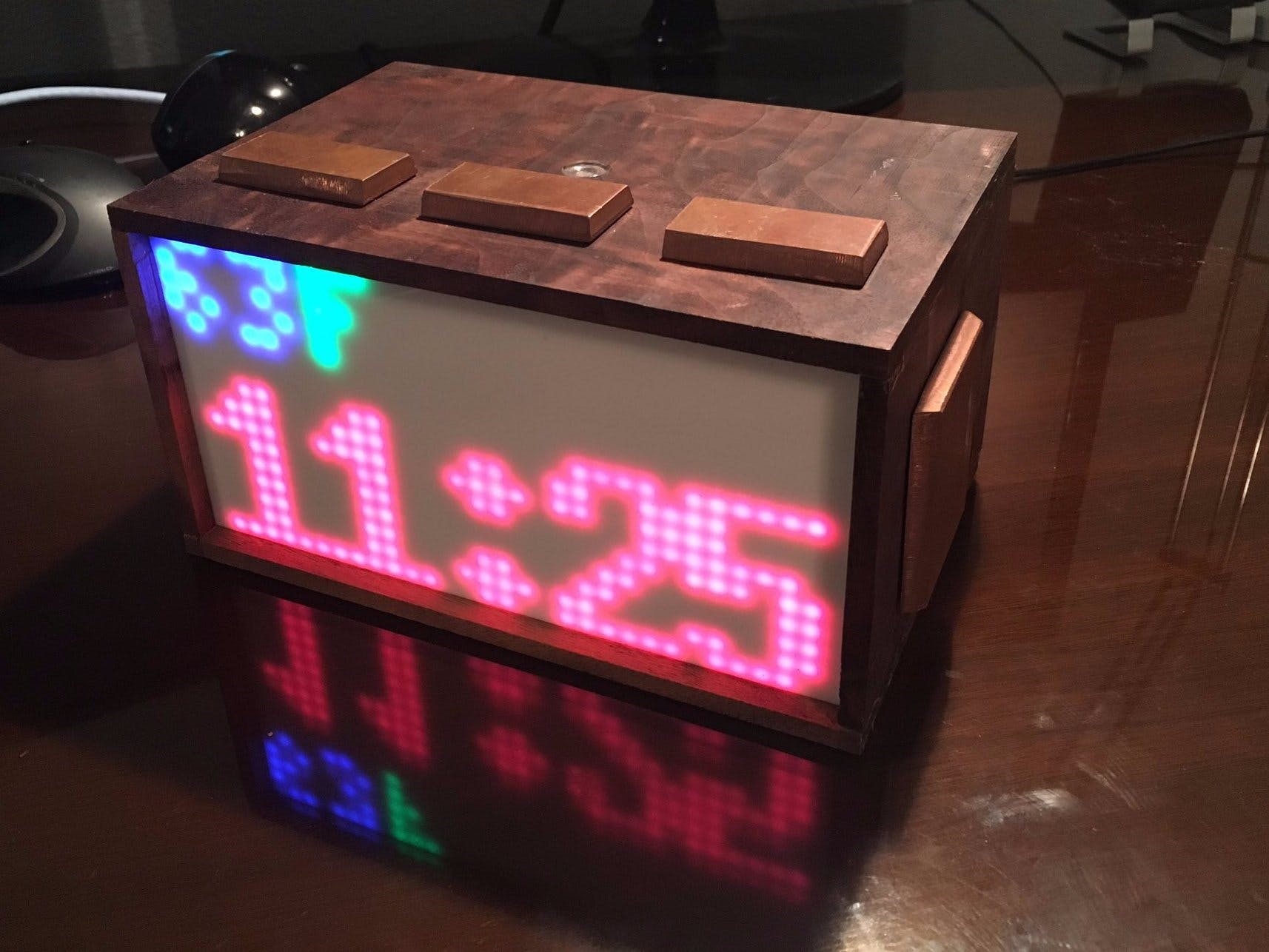 LunzPi Raspberry Pi Alarm Clock