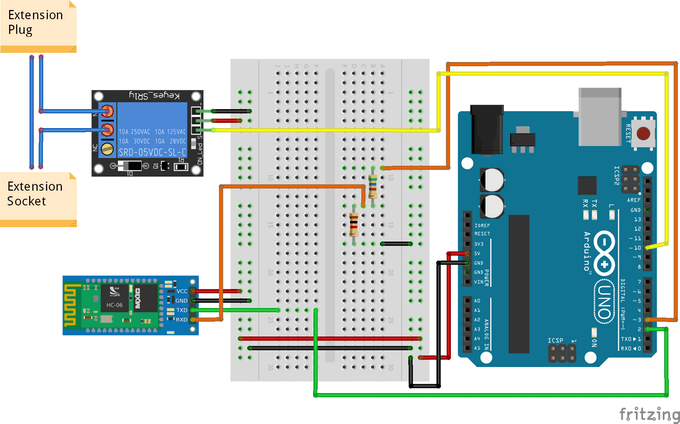 Simple Bluetooth Lamp Controller Using Android and Arduino