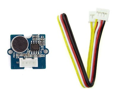 Grove starter kit for arduino --- Sound sensor
