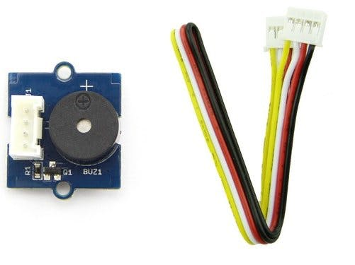 Grove starter kit for arduino --- Buzzer