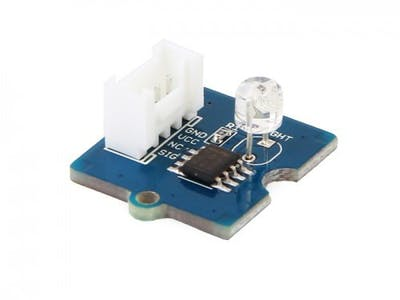 Grove Starter Kit for Arduino --- Light Sensor