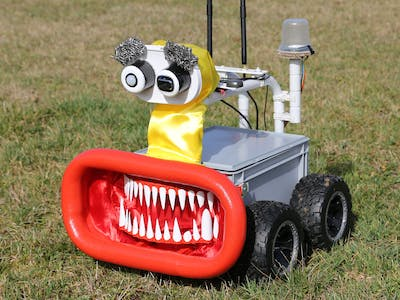 Raspberry Pi Powered Roboter with Differential GPS