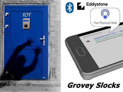 Grovey sLocks - Access Control Through A Smart Door Lock