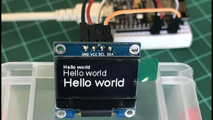 IoT Made Simple: Home Weather Station With NodeMCU and OLED «