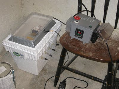 PID Controlled Egg Incubator