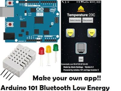 Arduino 101 BLE App