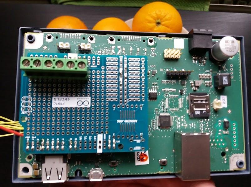 I/O and LCD Shield