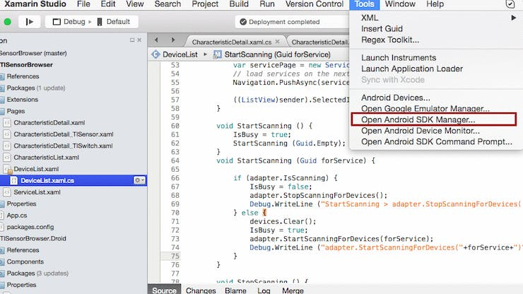 Getting Started With Bluetooth Low Energy Using Xamarin
