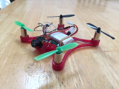 Cheap 105 FPV Micro Quadcopter