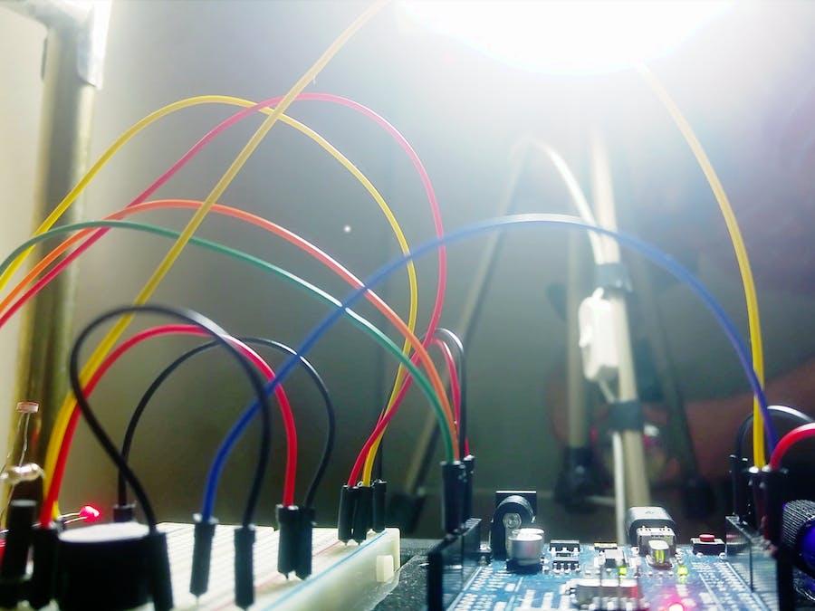 Arduino Laser Tripwire - Hackster.io