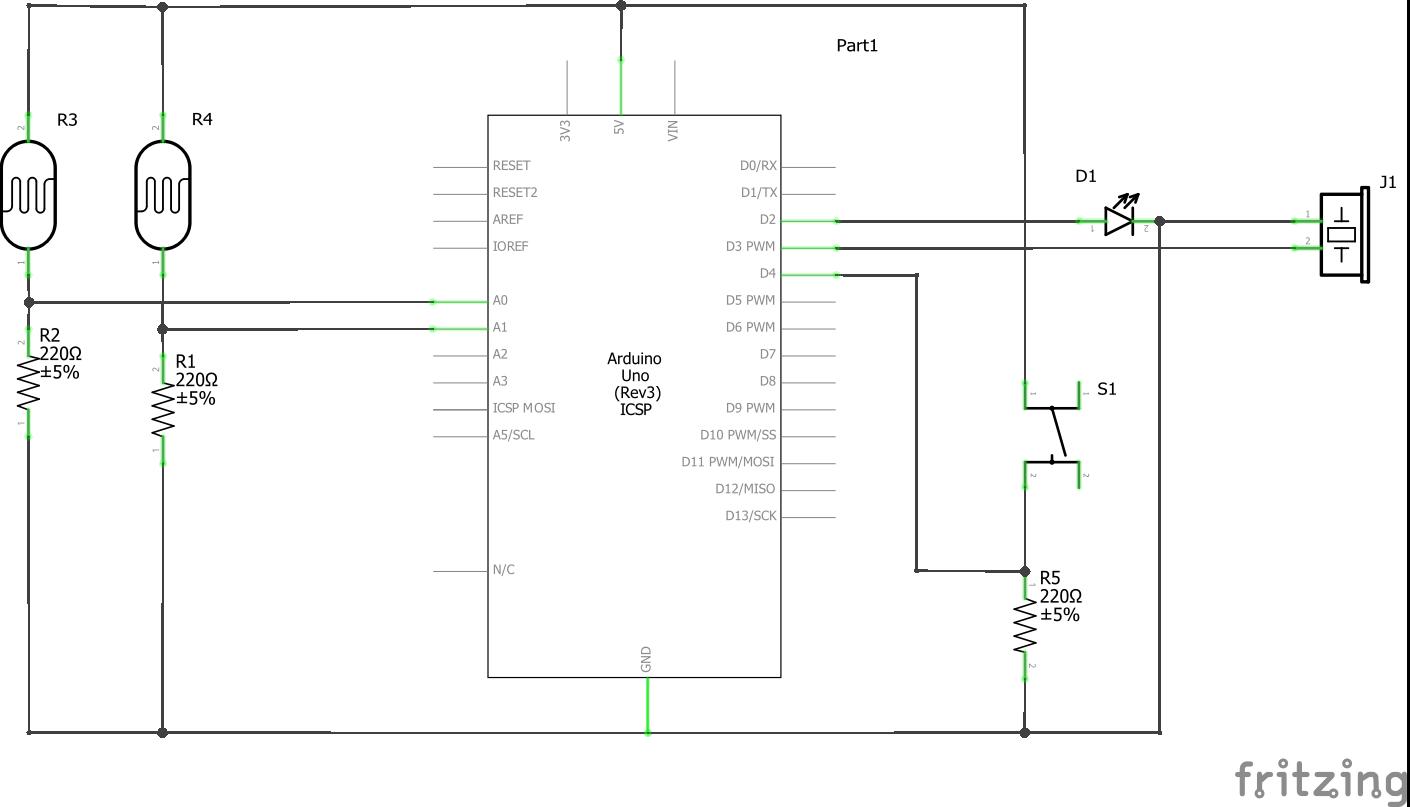 Arduino Laser Tripwire How To Build A Very Useful Timed Beeper Circuit Schematic Beep Schem Ygwdkxqt0e