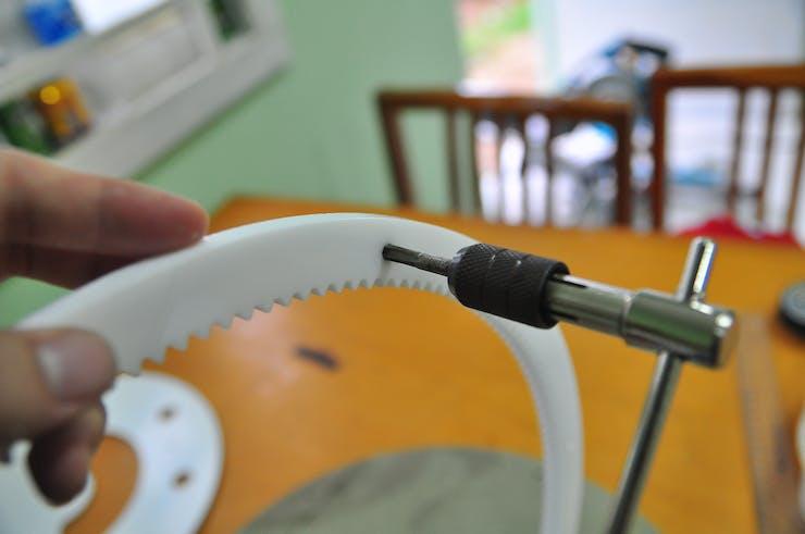 making thread hole