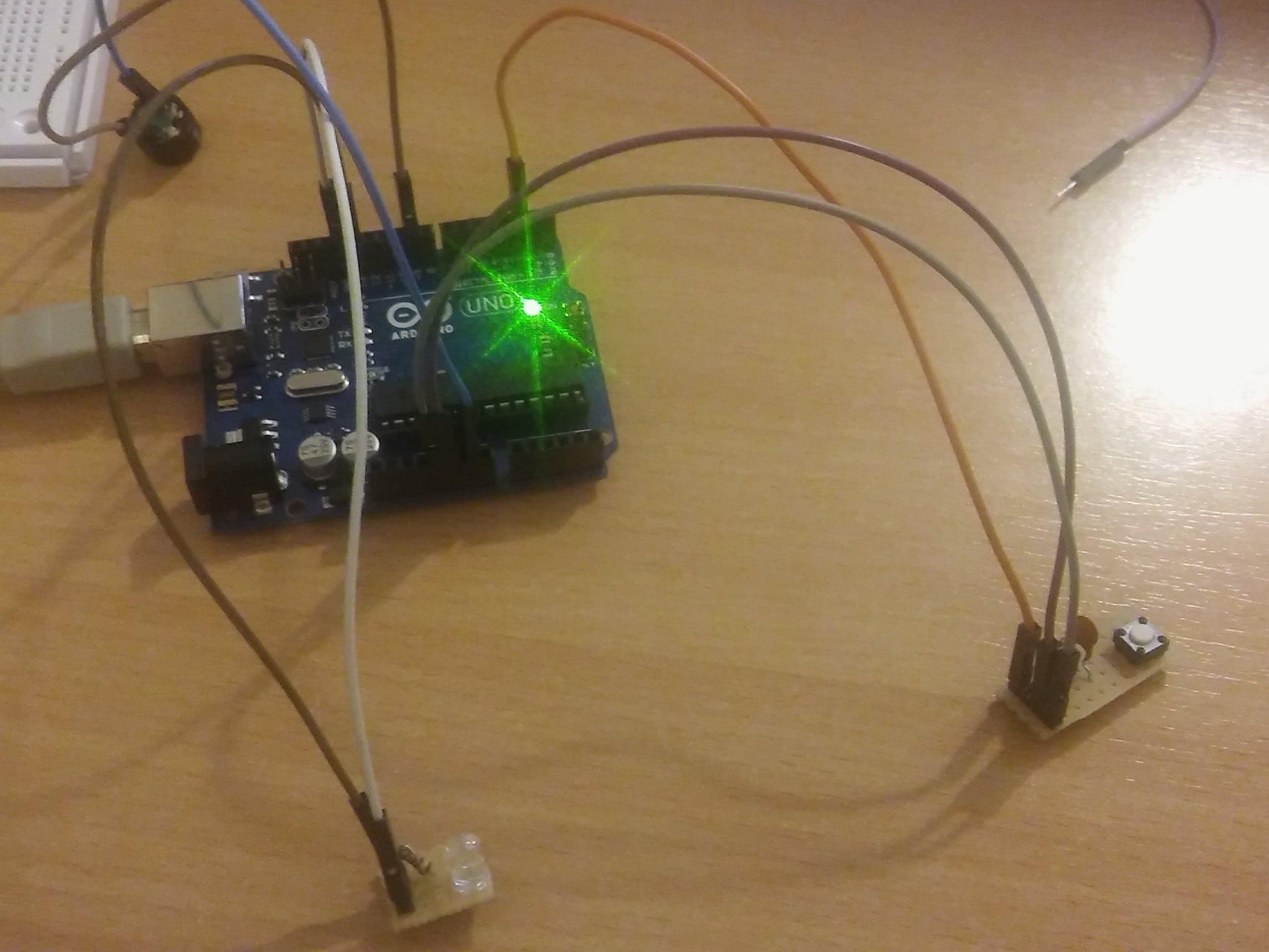 Arduino Morse Code Machine