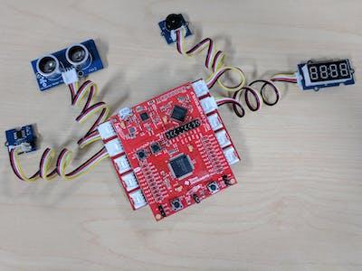 MSP430F5529 LaunchPad + Grove Workshop