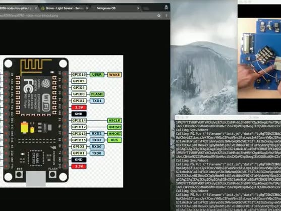 ESP8266 & Seeed Light Sensor - Quick Start In 2 Mins