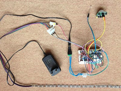 MyPIR-Sensor Activate Analog RGB Stripe Controlled By Photon
