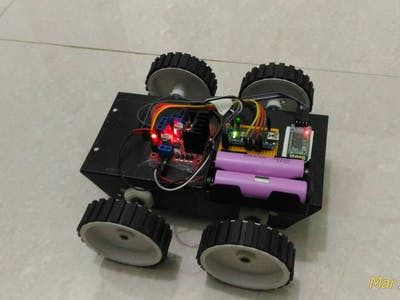 Control RC Car via Bluetooth with Android Smartphone