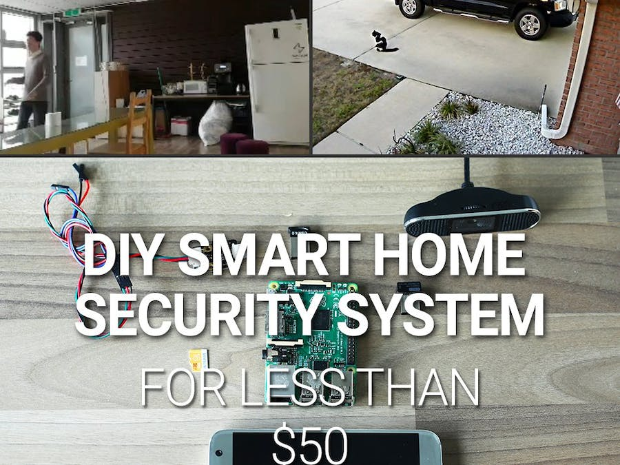 diy smart home security system for hackster io