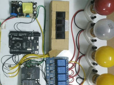 SMS-based Home Automation Using GSM Module