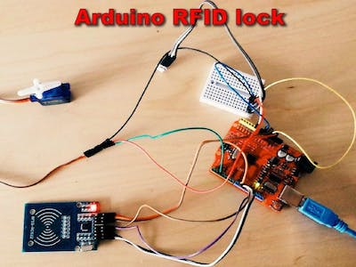 Arduino RFID Lock With RC522 - MIFARE Protocol 13.56 Mhz