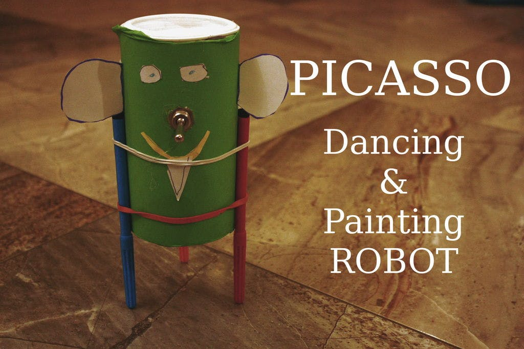 Picasso - Painting and Dancing Robot Toy