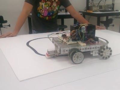 Easy Line Follower Robot Control Circuit With GreenPAK