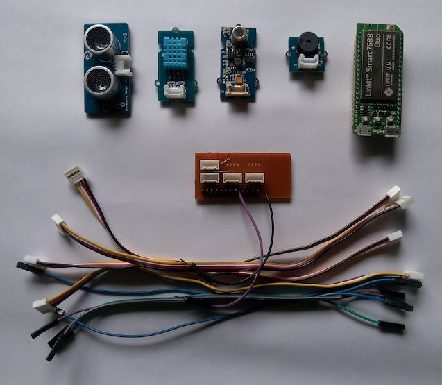 Components used in the project