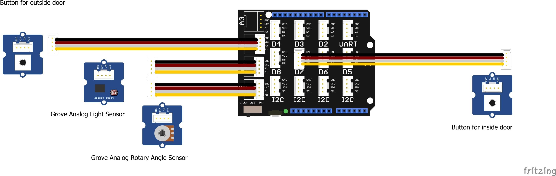 Base Shield with Grove Sensors