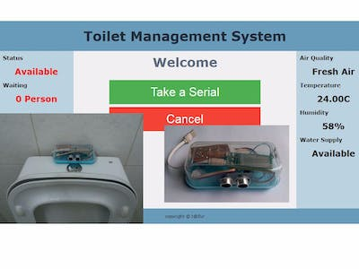 Toilet Management System