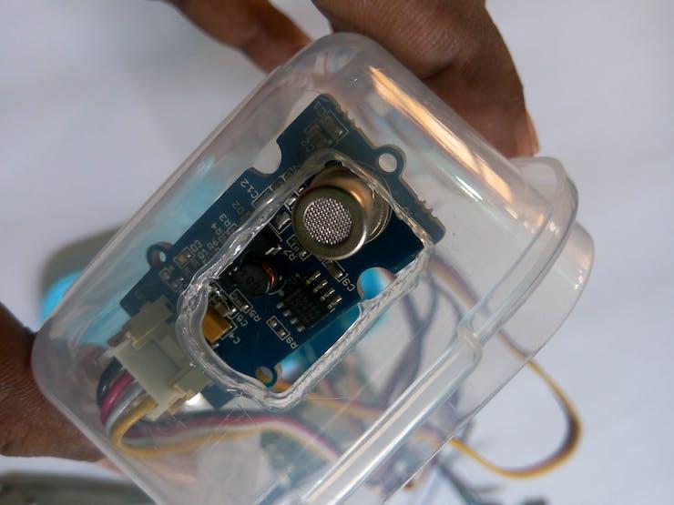 Placing air quality sensor