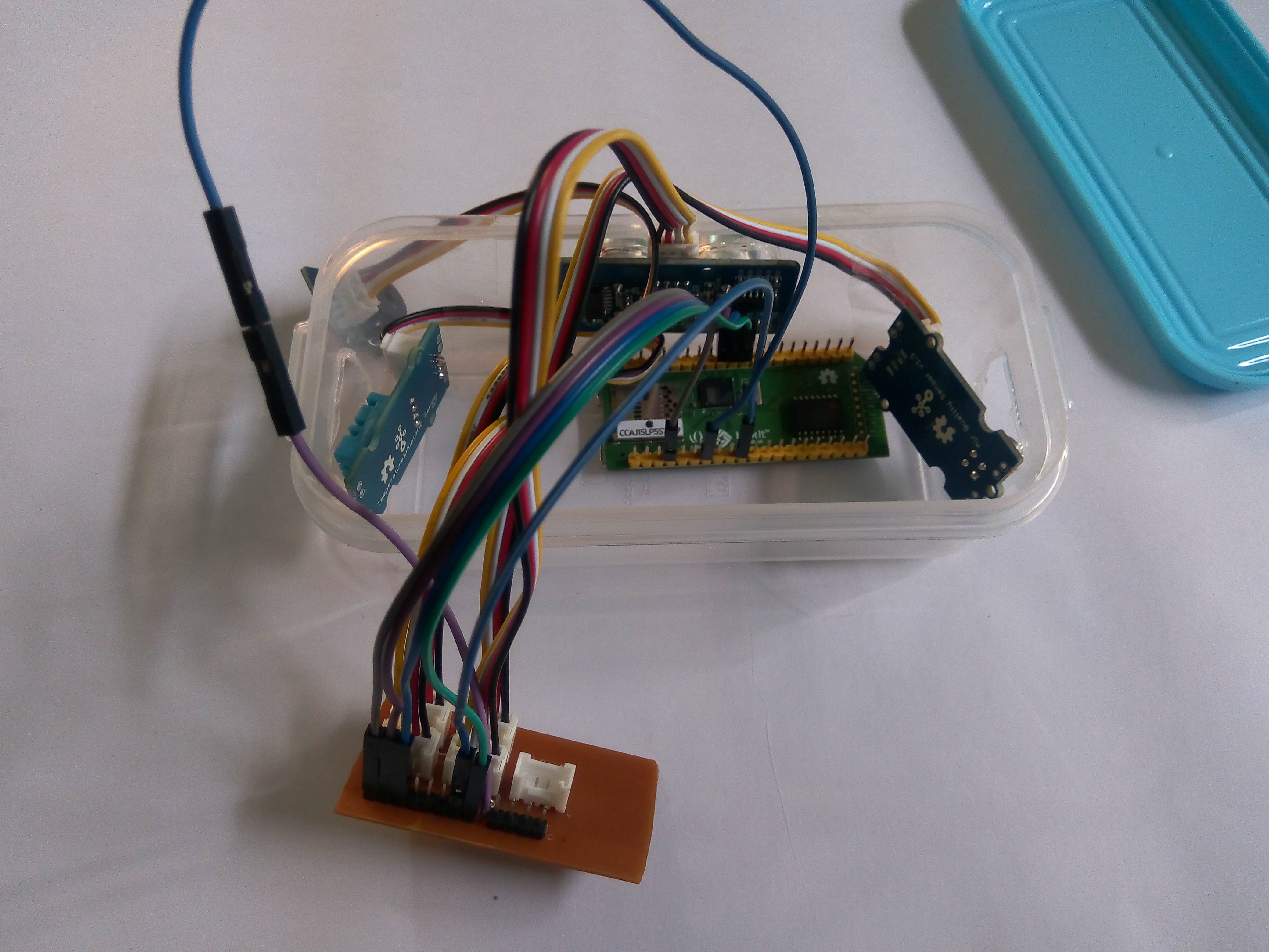 Placing linkit board