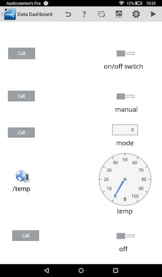 Using A Tablet To Control A Raspberry Pi With LabVIEW