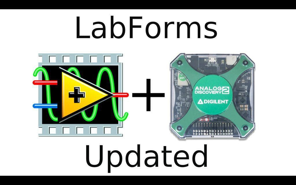 Analog Discovery 2 USB Oscilloscope + LabVIEW (2016 Update)